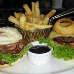 Station Open Burger.. Always a Favourite