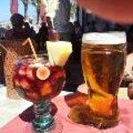 Sangria og 1 l øl..mmmm