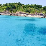 View of Similan island number 6