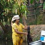 l ' heure de la lessive dans les canaux
