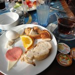 My very nice breakfast at the seatanbul