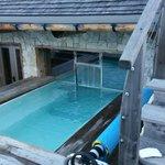 piscina esterna riscaldata