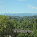 View from the Boulevard des Pyrenees