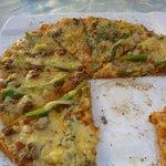 Pizza riquísimaaaaa