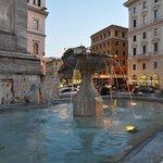 фонтан перед Базиликой Санта Мария Маджоре