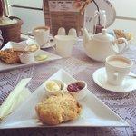 Stunning cream tea!!!