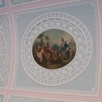 Ceiling detail; Library, Kenwood House