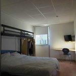 Compact bedroom