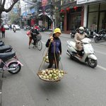 The bustling Old Town of Hanoi