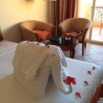 Towel decoration last day