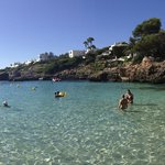 Cala Esmeralda - Beautiful, clear, sandy, and warm!
