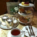 Afternoon breakfast tea