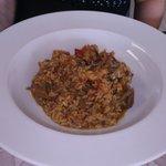 arroz meloso de verduras