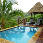 Honeymoon bure with plunge pool