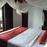 Bedroom honeymoon bure