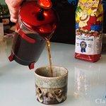 Tasting Buddha's Cup Medium Roast.
