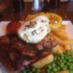 £8 mixed grill lovely