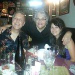 Sue Cello, Awesome Chef, in the center