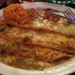 Chili rellanos plate. Amazing!!!