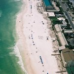 Aerial View of Sea Oats Motel