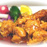 Orange Chicken - a close sibling of General Gau's Chicken