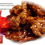 Orange Beef: Spicy, crispy and tender