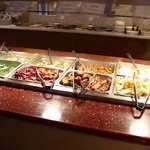 Daily lunch buffet with 40 Chinese, Sushi, Salads and Desserts.