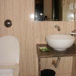 Fairly clean bathroom!