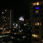 Hilton's fireworks on Fri. night that can be seen from the terrace floor.