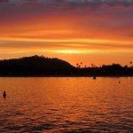 Shellfish at Sunset