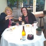 Happy Sisters finally dining at Le Manoir! Wow!