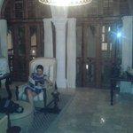Sala de Leitura do Hotel Casa San Agustín