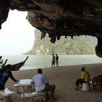 Caves on James Bond Island