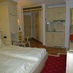 Room 112 showing kitchenette