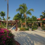 Landscaping, grounds and hotel are beautiful