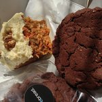 Divine carrot cake loaf and addictive adult only cookie!
