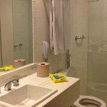 Banheiro novinho!