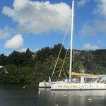 Le TIP TOP TWO à la Marina du Goaiser