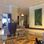 Beautiful lobby lounge