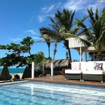 The Chili Beach pool and lounge area - lovely and relaxing!