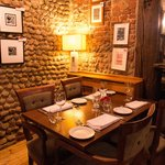 Fine dining in relaxed informal surroundings