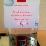 Wucherwasser für sechs Euro