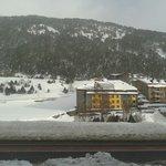 Hotel visto de longe