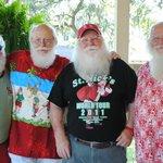 Even Santa shops at the Lazy Gator!