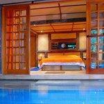 suite e piscina