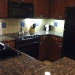 kitchen of one bedroom suite