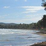 beach with amenities