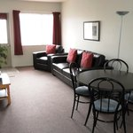One Bedroom Unit - New leather lounge suites
