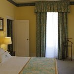 Bedroom area in junior suite 601