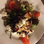 Salade de chèvre frais (menu à 16€)